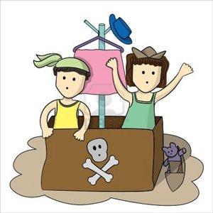 20120112193353-10338749-dos-dibujos-animados-de-ninos-jugando-y-pretender-ser-un-pirata-utilizando-una-caja-grande-como-un-b.jpg